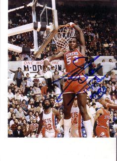 Darryl Dawkins Signed 8x10 Photo Philadelphia 76ers Chocolate Thunder | eBay