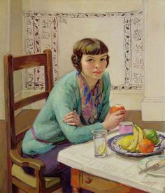 Untitled by Dorothy Johnstone on Curiator, the world's biggest collaborative art collection. Paintings Famous, Your Paintings, Illustrations, Illustration Art, Tamara Lempicka, Francoise Gilot, Arte Fashion, Collaborative Art, Fruit Art