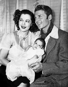Maria and Jean-Pierre with their daughter Tina Aumont.....At the end of World War II, the couple had a daughter, Maria Christina (also known as Tina Aumont), born in Hollywood in 1946.