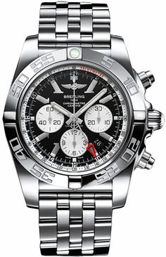 Official and New Breitling Windrider Chronomat GMT Automatic Mens Watch with Second Time Zone Feature AB041012/BA69 Authenticity Guaranteed
