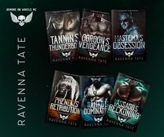 The Demons On Wheels MC Series by Ravenna Tate