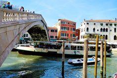 Vaparetto, water bus, Venice, Italy
