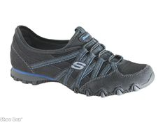 HAVE -  Skechers Bikers Athletic Lesiure Gray and Blue