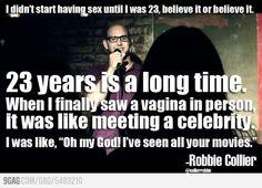 It was like meeting a celebrity