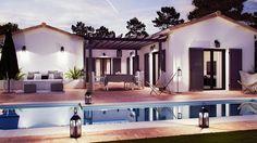 Couleurs Villa vous propose la Villa Patio, moderne, contemporaine cette maison est idéale pour des familles . Le modèle est disponible en 3 versions.