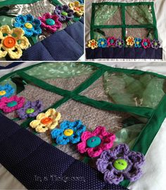 Transforming a Loft bed Into a Playhouse- Crochet flowers for window box Bunk Bed Fort, Kura Bed, Bed Tent, Bunk Beds, Loft Bed Curtains, Kids Bedroom Organization, Window Box Flowers, Wendy House, Big Girl Rooms