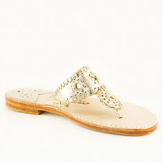 The Classic from Palm Beach Sandals, platinum & gold. dreaming of sunshine Rothys Shoes, Suede Shoes, Shoe Boots, Spanish Espadrilles, Anchor Monogram, Palm Beach Sandals, Water Shoes, Gold Leather, Natural Leather