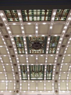 Art Nouveau ceiling    Legislature building, Edmonton, Alberta, Canada