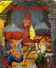 Dungeons and Dragons Basic Set (1974/1978). Fond memories...