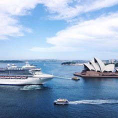 from the middle of Sydney Harbour Bridge  #view #of #sydney #sydneyharbour #sydneyharbourbridge #sydneyoperahouse #operahouse #cruise #ocean #sea #scenery #tourist #town #surfers #paradise #blue #bridge #vsco #vscocam #love #beautiful #vacation #holiday #fun #in #the #sun by carissacheah http://ift.tt/1NRMbNv