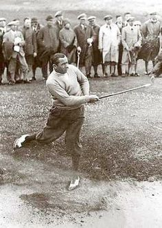 Walter Hagen (1892 to 1969) was the first native-born American to win The Open Championship.