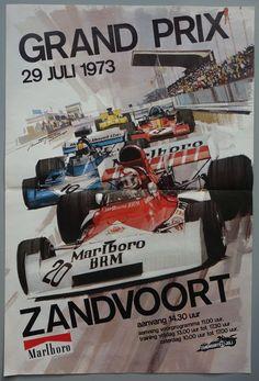 Michael Turner - Grand Prix Zandvoort - 1973