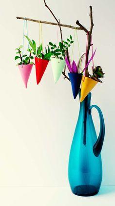 d.i.y. kiddo :: hanging planters