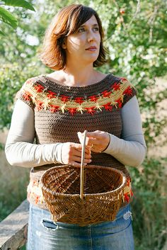 Ravelry: Maple Falls Sweater pattern by Joanne Scrace