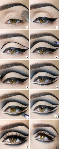 11 Halloween Make-up Tutorials That You Could Really Do - http ...