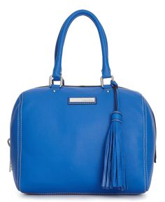 Calvin Klein Handbag, Palermo Leather Satchel - Handbag Trends - Handbags & Accessories - Macys