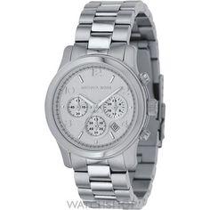 Michael Kors Runway Watch - silver bracelet & silver dial MK5076 £150