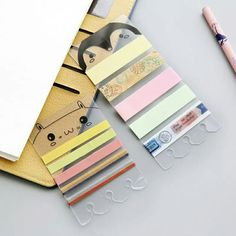 More ideas on how to use these washi sample holders!!