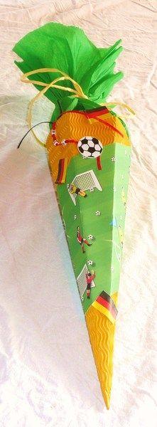 Geschwistertüte für Fussballfans.