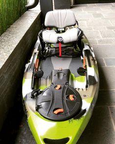 A perfect kayak is a good platform for a perfect fishing trip, Canoe And Kayak, Kayak Fishing, Fishing Boats, Fishing Stuff, Hobie Pro Angler, Angler Kayak, Kayaks For Sale, Kayak Equipment, Kayak Adventures