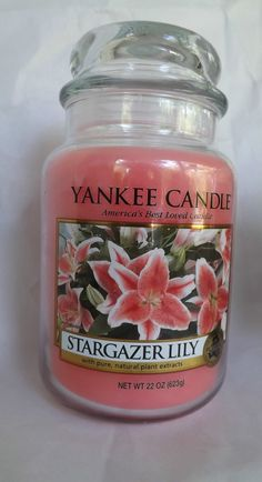 Yankee Candle Stargazer Lily.