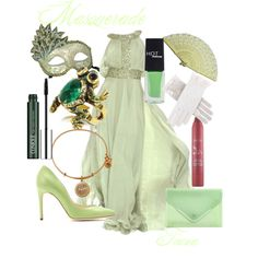 """Tiana Masquerade"" by kmacleod on Polyvore"