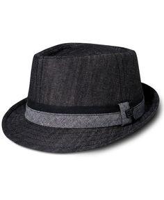 Sean John Hat, Diamond Top Fedora Hat