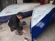 Ness yoals winter work -  Voile-aviron Cancale