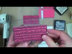 "Tim Holtz shares these creative uses for his innovative ""reflections"" stamps from Stampers Anonymous..."