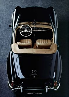 Weekend ride, classic, Mercedes Benz 190 SL, Gatsby Luzxury ...