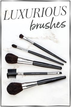 Flawless makeup application requires luxurious brushes. This luxurious makeup brush set includes a powder brush, cheek brush, eye colour brush, eye crease brush and eyeliner/eyebrow brush – all with handcrafted handles for maximum control. | Mary Kay