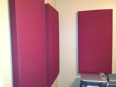 DIY acoustic panels for Podcasters