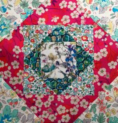 Liberty of London mini quilt #eshevyakina