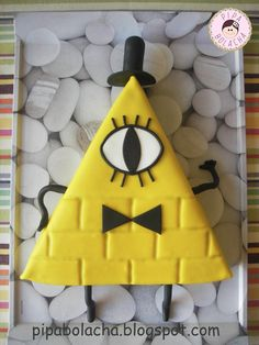 "Pipa Bolacha: Bill Cipher do ""Gravity Falls""."