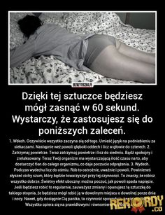 Dzięki tej sztuczce będziesz mógł... - Rekordy.CO - Wszystko co najlepsze, największe, REKORDOWE! Body Hacks, Good Advice, Healthy Tips, Kids And Parenting, Good To Know, Health And Beauty, Life Lessons, Fun Facts, Psychology