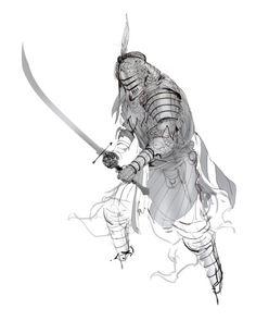Iron Dynasty Armor I by *Inkthinker on deviantART
