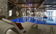 Hotel Cheval Blanc - Courchevel The Indoor Pool
