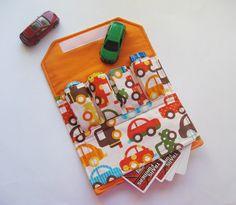 Car Wallet with Pocket $14 via Etsy.