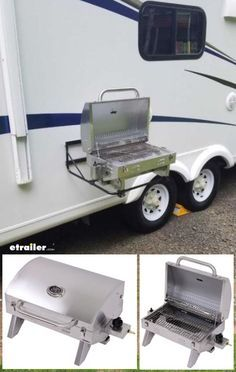 hook up propane grill to rv