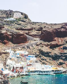 The Complete Santorini Travel Guide | Travel Itinerary | Travel Tips | Greek Islands | Greece | Oia | Ammoudi Bay