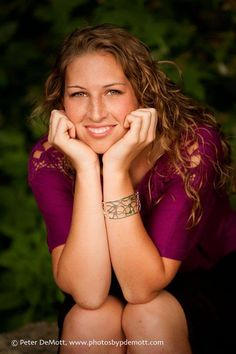 Great smile, great look. Senior portrait session by Peter DeMott Photography. http://www.photosbypdemott.com