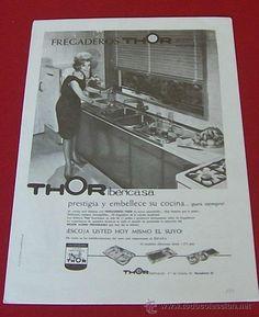 1964 publicidad de fregaderos thor iberica barcelona - Fregaderos thor ...