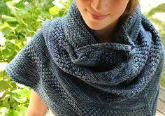 textured shawl recipe by orlane. malabrigo Rios