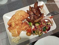 Šťavnaté kuracie rezne s pečenými zemiakmi Thing 1, Ale, Meat, Chicken, Food, Ale Beer, Essen, Meals, Yemek
