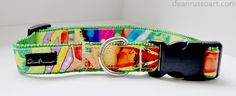 """""""Steal Your Heart"""" dog collar by Dean Russo Art available now ~"""