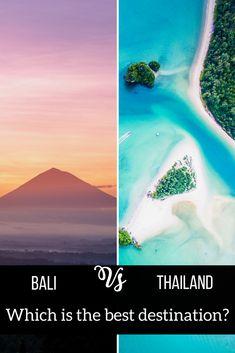Bali vs Thailand: Which Should be your Next Travel Destination?