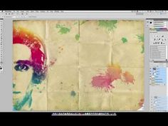 Photoshop Tutorial: Watercolor Photo Manipulation Effect Photoshop Cs5 Tutorials, Adobe Photoshop, Great Pictures, Cool Photos, Computer Tips, Photoshop Photography, Photo Manipulation, Creative Inspiration, School Ideas