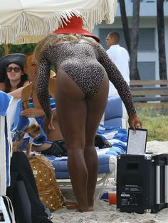 Serena Williams.   Some folks simply don't know when to stop taking pictures of our heroes and heroines.