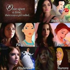 Pretty Little Liars + disney