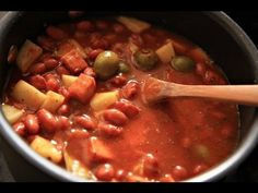 Boricua Style Habichuelas Guisadas Frescas (Stewed beans from Scratch) - YouTube